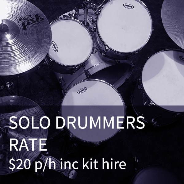 Solo Drummer Rate